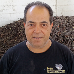 Adamos Kyriakou - Limassol Carob Mill - Supplier