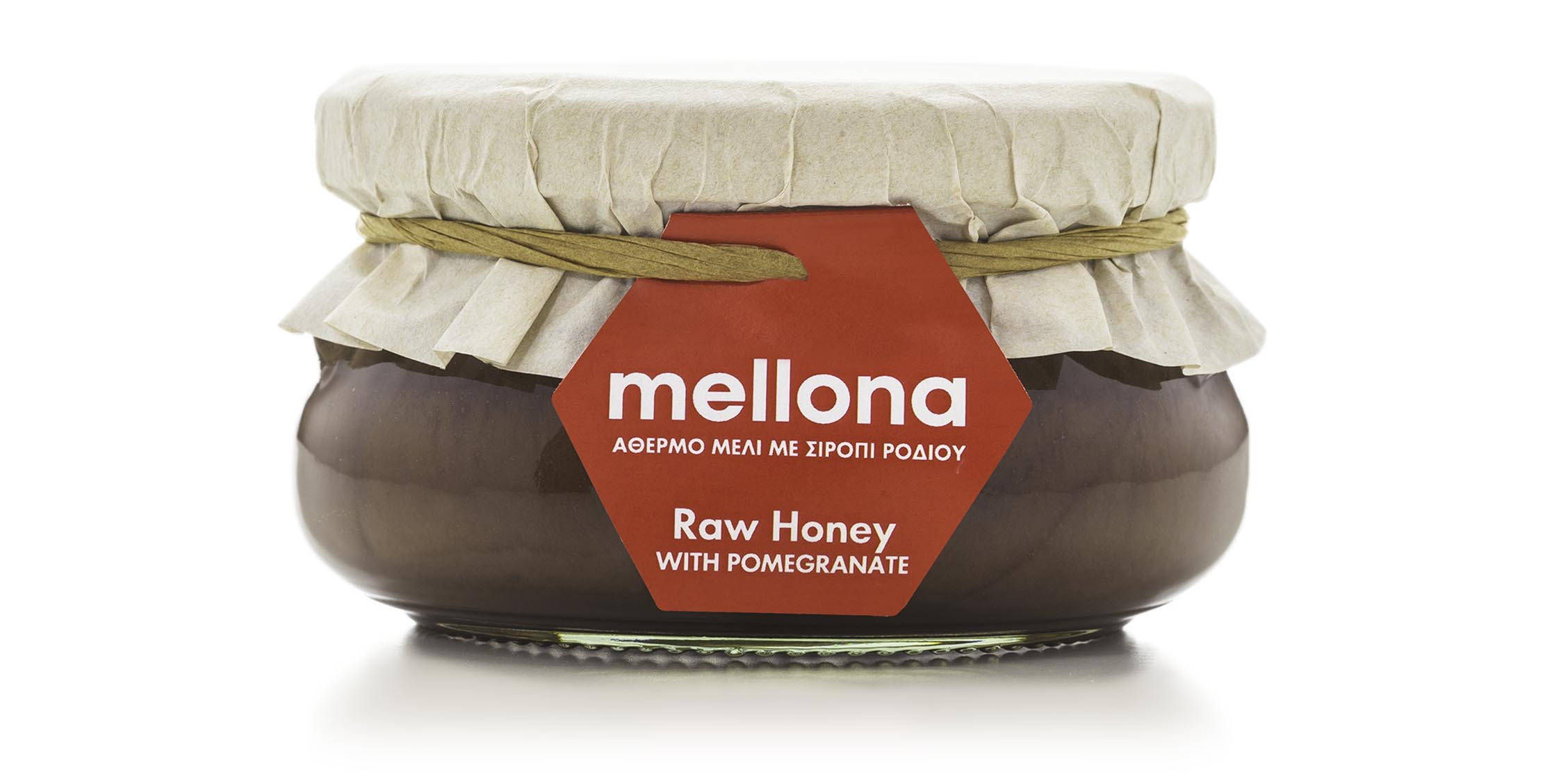 Mellona honey spreads - Raw Honey with Pomegranate