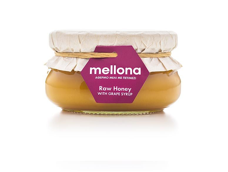 Raw Honey with Grape